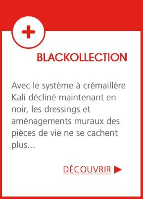 Blackollection - Le système Kali décliné en noir
