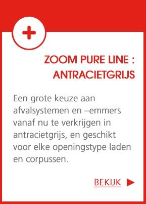 ZOOM Pure Line - Afval sorteren in de keuken : voor alles heb jij een oplossing