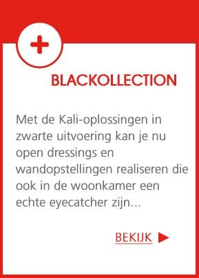 Blackollection - Het Kali-systeem is verkrijgbaar in zwart