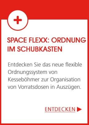 Space Flexx : Ordnung im Schubkasten