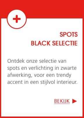 LED Spots - De Black selectie