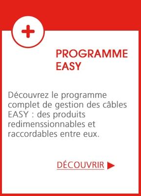 EASY : le programme de gestion des câbles