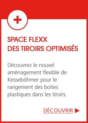 Space Flexx : des tiroirs optimisés