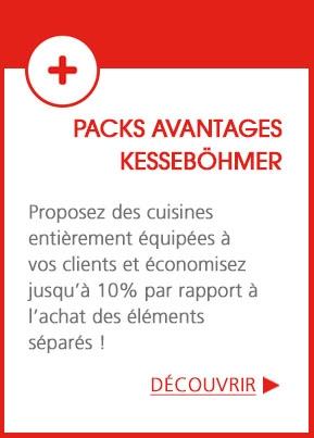 Pack Kesseböhmer - Des cuisines équipées jusqu'à -10% !