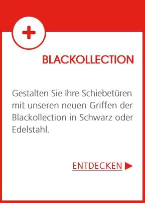 Gestalten Sie Ihre Schiebetüren mit unseren Griffen in der Trendfarbe Schwarz!
