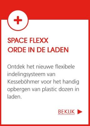 Space flexx : Orde in de laden