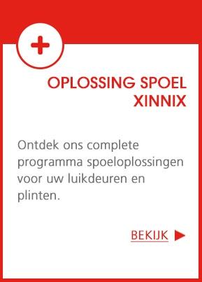 Oplossing spoel XINNIX