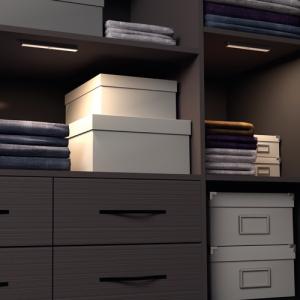 Ankleide und Schlafzimmer