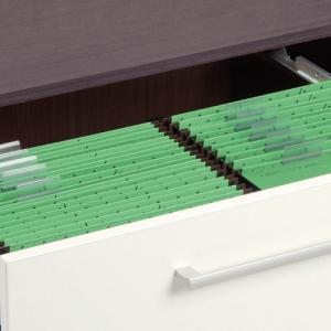 Dossiers suspendus et tiroirs